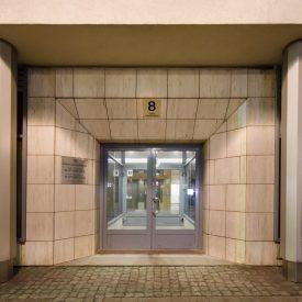 Wejście do Gdyńskiego Centrum Biznesu