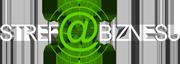 Strefa Biznesu Białe Logo
