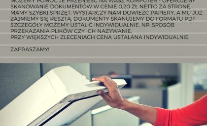 Digitalizacja dokumentów